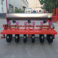 供应拖拉机牵引四六行娃娃菜精播机 免耕地带施肥蔬菜精播机