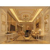凤凰山庄760平方别墅装修设计|法式风格效果图|南京龙发装饰