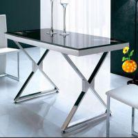 订制欧式桌子 简约圆几边几象牙白烤漆家具不锈钢茶几边几直销
