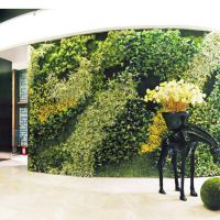 40X60仿真草坪 塑料假花植物墙 婚庆酒店展厅背景墙装饰绿植批发