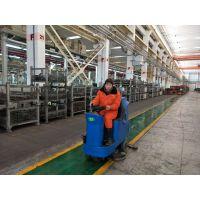 驾驶式洗地机解决大型工厂车间清洁难题