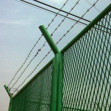 深圳工业园围栏网定做 绿化带隔离网款式 东莞工地临时圈地围网现货