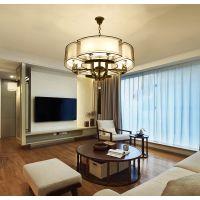 供应现代新中式吊灯中国风客厅灯具创意卧室书房仿古餐厅吊灯