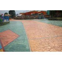 南昌混凝土彩色压花地坪|市政道路压花地坪|彩色地坪艺术地坪
