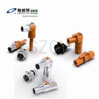 兼容安费诺PLE48X-200-50连接器 单芯200A大电流高压塑料防水插头