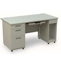 信高 写字台双边电脑桌B-147AC-D办公桌 金属简约现代