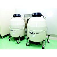 美国MVE液氮罐XC47/11-10 原装进口47升储存液氮罐 10个吊桶