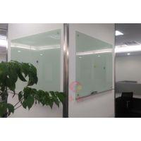 茂名进口钢化玻璃白板J东莞DIY玻璃白板创意J进口白色烤漆