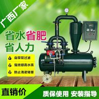 广西水肥一体化设备 武鸣枣树施肥机电动铁罐卧式自带双过滤系统