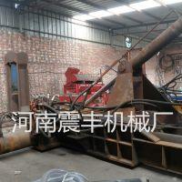废旧金属压块机 废金属挤压成型设备价格低 新型废纸废铁成型机震丰机械厂家推荐