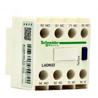 施耐德TeSys接触器辅助触点模块 2NO+2NC LADN22