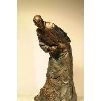 广东东莞原著雕塑公司 扬州八怪人物造型 玻璃钢铸铜雕塑 城市园林景观家居摆饰