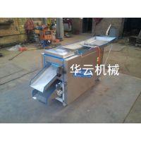 山东辣椒切断机,供应山东滚刀式辣椒切断机,华云机械制造HY300型辣椒切断机。