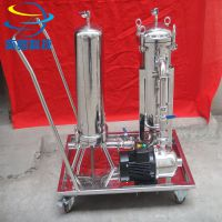 上海移动小推车袋式过滤器 小推车过滤系统 奕卿科技