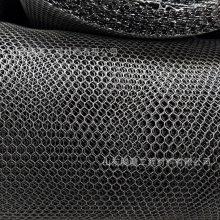 山东腾疆生产高密度聚乙烯护坡网 优质生产厂家 HDPE软基处理单层土工三维网 防老化黑色土工网