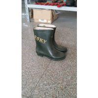 天津双安牌 嘉泰厂家供应 20kv电工绝缘靴 绝缘鞋耐压等级