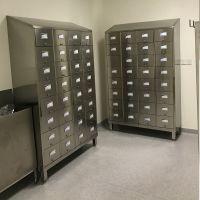 北京不锈钢鞋柜制造加工 316 316L不锈钢鞋柜定做生产厂家