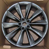 21寸特斯拉轮毂原厂正品tesla汽车钢圈拆车件