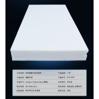 白色聚酯纤维棉毡板墙体填充无味环保吸音隔音