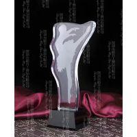 磨砂水晶奖杯,水晶工艺品,新款水晶奖杯图片,奖杯定制