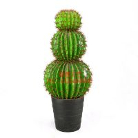 腾格里仿真沙漠植物 塑料仙人掌植物盆栽 葫芦型仿真盆栽造型可定制