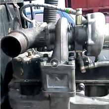 洛拖 潍柴华丰拖拉机4105 4108发动机改装涡轮增压器 顶部改装增压附件