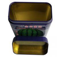 方形种子罐 马口铁农产品包装盒定制