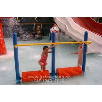 广州供应水上乐园儿童戏水设备 戏水小品 水上滚木 浮莲 秋千