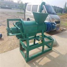 牛粪干湿自动分离机 猪粪变黄金版 环保机械脱水机