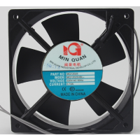 闽泉电机 MQ12025HBL1 110V 12厘米双滚珠轴承机柜轴流风扇