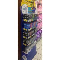 盛世星美专业生产金属展架 避孕套展示架 安全套展架 超市展示架