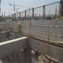 电梯防护门 施工楼层隔离网 基坑围栏定制