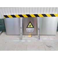 变电站不锈钢档鼠板规格 石家庄金淼电力生产