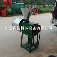 振德牌 谷物磨粉机 家用电动杂粮面粉机 粮食脱皮磨面机 自产自销