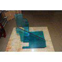 成都亚克力透明蓝防护罩,亚克力粘接热弯弧形挡板定制加工厂家,