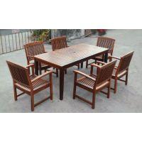 户外家具 实木桌椅 庭院花园阳台桌椅