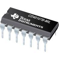 供应CD40107B非门缓冲器或驱动器(代理TI德州仪器)