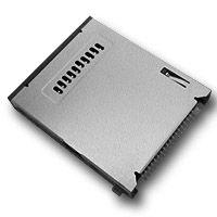 硕方 CS-401 LCP耐高溫材質 四合一連接器 SD卡 MMC卡 XD卡 MS卡