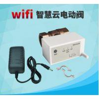 wifi电动阀门 远程控制电动阀 智慧云物联网电动阀 无线摇控电动球阀
