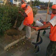 便捷大马力挖坑机 植树挖穴机