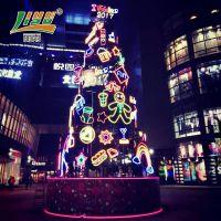 上海丽雨艺术灯圣诞树