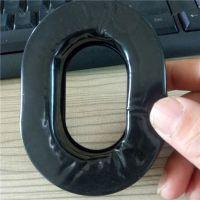 厂家填充硅胶皮耳套加工定制 高品质记忆海绵 航空降噪耳机吸音海绵耳罩外贸热款