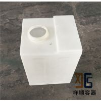 100升机械机床冷却水箱/100L方形塑料PE桶/100公斤滚塑塑料方箱