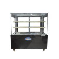 商用食物冷藏保鲜设备山西1.2米风冷蛋糕展示柜