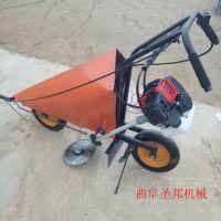 丘陵玉米秸秆收割机 手推式收割机