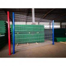 护栏网安装方案 小区护栏网直销 绿色碰焊网