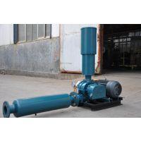 山东龙鼓 厂家直销 三叶罗茨风机 污水曝气机 水产养殖增氧机 1.5kw小型罗茨风机价格