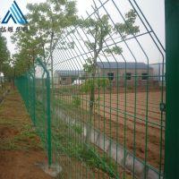 池塘隔离防护网_围山护栏网_厂区绿地双边围栏网