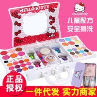 hello kitty凯蒂猫儿童化妆品公主彩妆盒女孩化妆盒玩具套装无毒