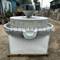 厂家直销 电动石磨芝麻香油机 米浆石磨豆浆机 花生酱磨 振德